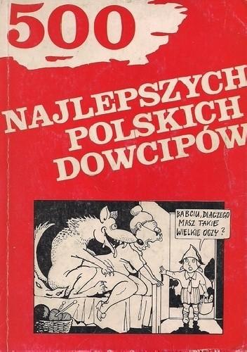 Okładka książki 500 najlepszych polskich dowcipów