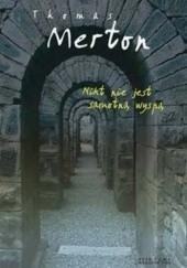 Okładka książki Nikt nie jest samotną wyspą Thomas Merton