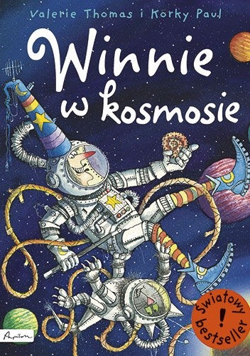 Okładka książki Winnie w kosmosie Korky Paul,Valerie Thomas