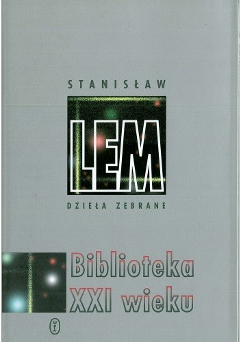 Okładka książki Biblioteka XXI wieku Stanisław Lem