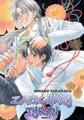 Okładka książki Zakochany Tyran 2 Hinako Takanaga
