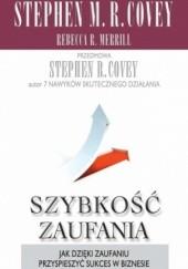 Okładka książki Szybkość zaufania Stephen R. Covey