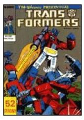 Okładka książki Transformers 3/1992 Bob Budiansky,Herb Trimpe