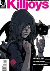 Okładka książki The True Lives of the Fabulous Killjoys #1 Gerard Way,Shaun Simon,Becky Cloonan
