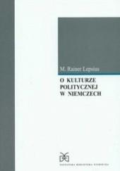 Okładka książki O kulturze politycznej w Niemczech Mario Rainer Lepsius