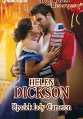 Okładka książki Upadek lady Cameron Helen Dickson