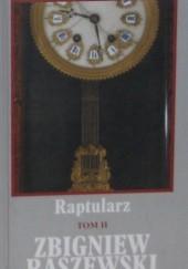 Okładka książki Raptularz. Tom II Zbigniew Raszewski