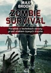 Okładka książki Zombie survival Max Brooks