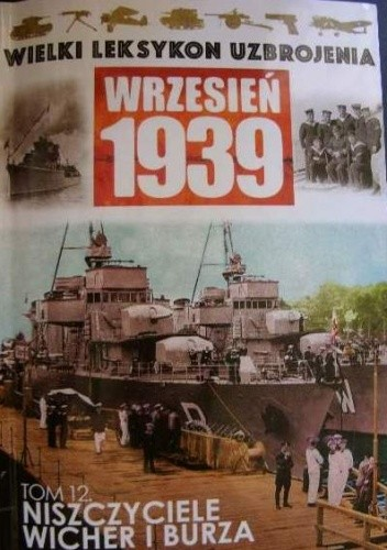 Okładka książki Niszczyciele Wicher i Burza Tadeusz Kondracki