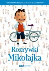 Okładka książki Rozrywki Mikołajka praca zbiorowa