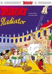 Okładka książki Asteriks gladiator René Goscinny,Albert Uderzo