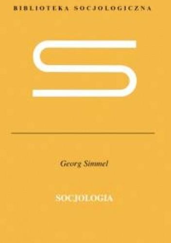 Okładka książki Socjologia Georg Simmel