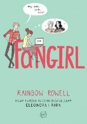 Okładka książki Fangirl Rainbow Rowell