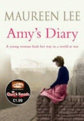 Okładka książki Amys Diary Maureen Lee