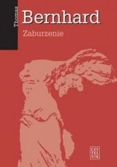 Okładka książki Zaburzenie Thomas Bernhard