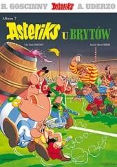 Okładka książki Asteriks u Brytów René Goscinny,Albert Uderzo