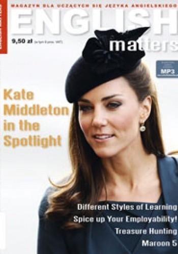 Okładka książki English Matters, 36/2012 (wrzesień/październik) Redakcja magazynu English Matters