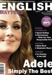 Okładka książki English Matters, 33/2012 (marzec/kwiecień)