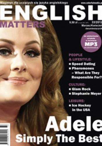 Okładka książki English Matters, 33/2012 (marzec/kwiecień) Redakcja magazynu English Matters