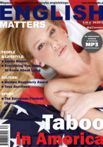 Okładka książki English Matters, 34/2012 (maj/czerwiec) Redakcja magazynu English Matters