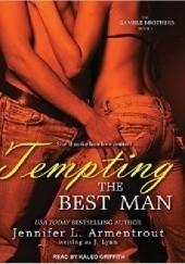 Okładka książki Tempting the Best Man J. Lynn