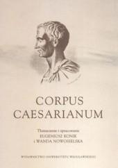 Okładka książki Corpus Caesarianum Gajusz Juliusz Cezar