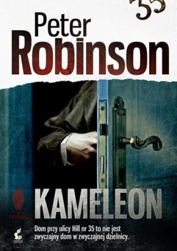 Okładka książki Kameleon Peter Robinson