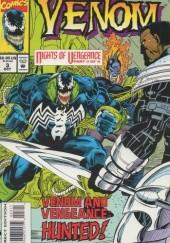 Okładka książki Venom Nights of Vengeance: The Hunt Howard Mackie