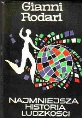 Okładka książki Najmniejsza historia ludzkości Gianni Rodari