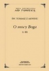 Okładka książki O mocy Boga t. III
