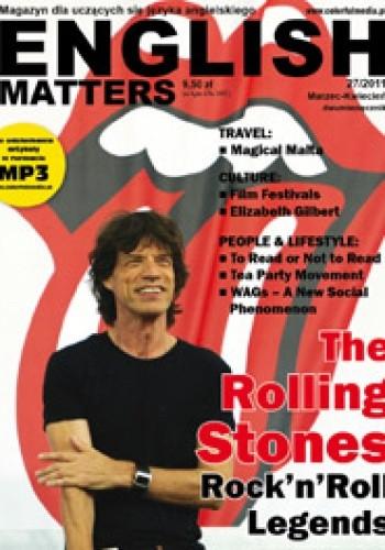 Okładka książki English Matters, 27/2011 (marzec/kwiecień) Redakcja magazynu English Matters
