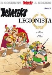 Okładka książki Asteriks legionista René Goscinny,Albert Uderzo