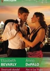 Okładka książki Towarzyski skandal, Noc w Las Vegas Anna DePalo,Elizabeth Bevarly