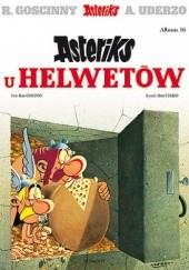 Okładka książki Asteriks u Helwetów René Goscinny,Albert Uderzo