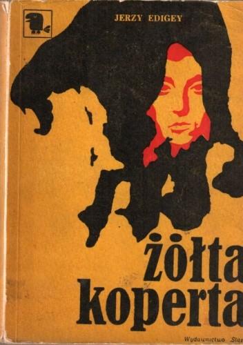 Okładka książki Żółta koperta Jerzy Edigey