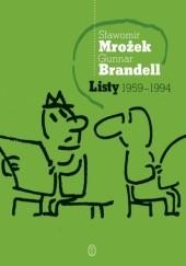 Okładka książki Listy 1959-1994 Sławomir Mrożek,Gunnar Brandell
