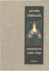 Okładka książki Rozszczepienie języka obcego Weronika Stępkowska