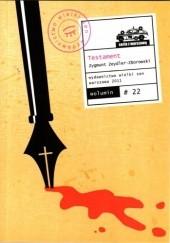 Okładka książki Testament Zygmunt Zeydler-Zborowski
