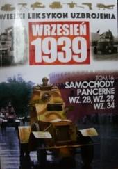 Okładka książki Samochody pancerne wz.28, wz.29, wz.34.