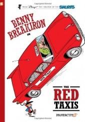 Okładka książki The Red Taxis Peyo