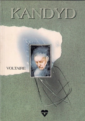 Okładka książki Kandyd Voltaire