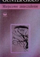 Okładka książki Miejscowe znieczulenie Günter Grass