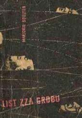 Okładka książki List zza grobu