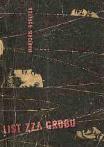 Okładka książki List zza grobu Marjorie Boulton