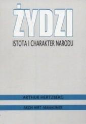 Okładka książki Żydzi. Istota i charakter narodu Arthur Hertzberg,Aron Hirt-Manheimer
