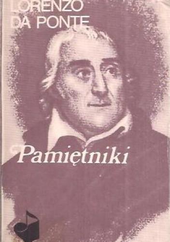 Okładka książki Pamiętniki Lorenzo da Ponte