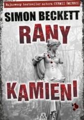 Okładka książki Rany kamieni Simon Beckett