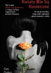 Okładka książki Kwiaty nie są konieczne Cari Quinn