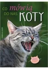 Okładka książki Co mówią do nas koty Isabella Lauer