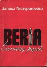 Okładka książki Beria Czerwony pająk